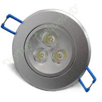 Wholesale W high power LED spotlight bulbs on the ceiling white lights embedded cabinet AC V