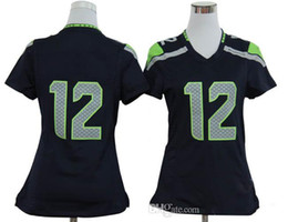 Wholesale 2014 Hot Fan Blue Womens Game Jerseys Brand Sports Jerseys Pro Bowl With Names and Numbers Mix Order New Arrive Comfortable