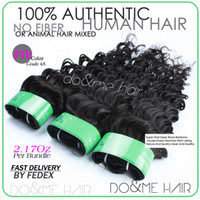 Wholesale Super hold deep wave brazilian virgin hair extensions discount natural curly remy human hair weft b excellent weave as eliteshair