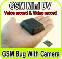 Wholesale Big Promotion Quad band X009 GSM SPY Camera Mini Hidden Voice BUG Wireless MMS Alert Monitor