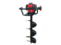 auger hole digger - 71CC Worm driven earth auger hole digger