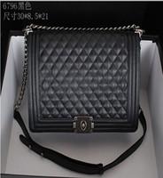 handbag - Designer women handbags Delicate Sheepskin Checks Metal Chain shoulder bags casual massenger bags x8 x21cm