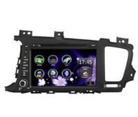Wholesale KIA K5 OPTIMA Car DVD player Touch Screen D Rotating UI PIP DVD SWC ATV IPODBT Radio RDS Telephone book AUX IN build in GPS Good qualit