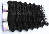 Malaysian Hair Deep Wave 100% Malaysian human hair Excellent texture Malaysian Deep weave Kinky Curly Hair products,Virgin Human remy Malaysian natural black hair extensions 4pcs lot 62g pcs