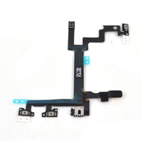 Wholesale 10 OEM Power on off Volume Switch Connector Flex Cable Ribbon for iphone G
