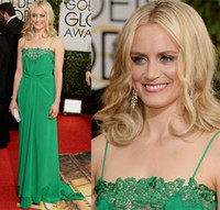 Wholesale The st Golden Globe Awards Celebrity Prom DressesTaylor Schilling Spaghetti Straps Backless A Line Long Thakoon Carpet Evening Gowns WW