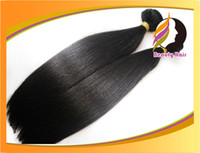 Wholesale 20 Off A Unprocessed Cuticle Brazilian Malaysian Indian Peruvian Virgin Remy Human Hair Weave Straight Hair Weft Extension