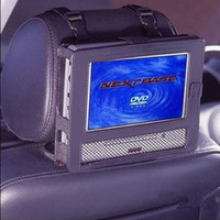 Wholesale 7 Car Headrest Mount for ipad DVD player and MP4 Portable Harness bag case