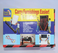 Wholesale 50sets Carry furnishings easier carry furnishing strap moving strap lifting strap
