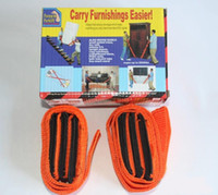 Wholesale 10sets Carry furnishings easier carry furnishing strap moving strap lifting strap