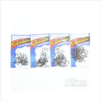 Wholesale 200pcs packs GAMAKATS Chemically Sharpened Octopus Circle Hooks Sizes Value Pack