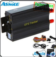 Cheap Car Vehicle GPRS GSM SMS GPS Tracker Tracking System Device TK103A With Alarm