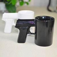 Wholesale Creative personality pistol pistol mug cup ceramic cup mug cup coffee cup cups shooting