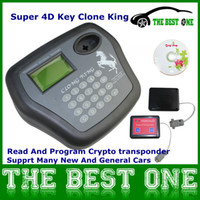 Wholesale 2014 Newest V3 Super D Key Clone King Transponder Key Programmer For Multi Car Distinguish D transponder Chips DHL Free
