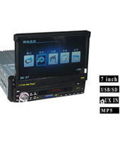 Cheap Free shipping 12V 4*50w car mp5 radio player, 7 inch LCD Display, Car Audio, support USB SD,FM radio turner, AUX in