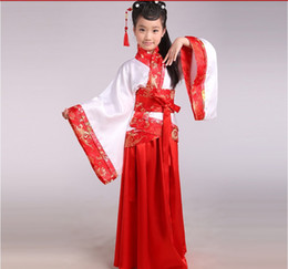 Wholesale Fall in Love With China Chinese Clothing Girl s DressTraditional children costume Four Colors