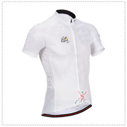 2014 TOUR DE FRANCE WHITE F02 ONLY Short Sleeve Cycling Jersey Bicycle Wear Size XS-4XL T03