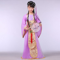 Cheap Fall in Love With China Beautiful Girl's Dress Traditional children costume Ethnic Dress