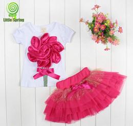 Vente en gros - - Nouvelle dentelle filles coréennes habille des filles robe tutu robe en stratifié enfants fleurs 3D enfants robe de dentelle en coton robe de soirée à partir de dentelle en couches robe tutu enfants fournisseurs