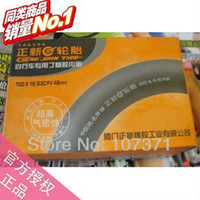 Road Bikes 12 Inch Tires 2pcs lot New CST 700C*19-23C Road bicycle tire inner tube Road bike tyre inner tube 48L France style Air Valve Free shipping