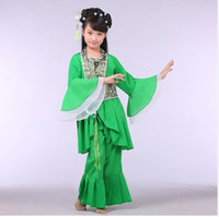 Women Tang Suit Traditonal Chinese Fall in Love With China Dacing Suits Beautiful Girl's Dress Traditional children costume Ethnic Clothing