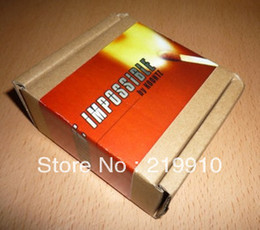 Free Shipping Impossible by koontz --Magic Trick, Fun Magic, Party Magic.