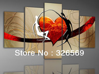 Wholesale Factory sell High quality Wall art Home Decoration100 handmade oil painting business wedding gift M20121117