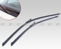 Wholesale amp Tracking New quot quot Bracketless Frameless Steel Rubber Rain Window Windshield Wiper Blade CA01498