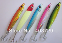 Wholesale 10pcs cm g lead fish D eyes with simple package lead fishing lure lead jigs Knife jigs