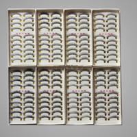 Wholesale 10 box pairs Hot sales Long Natural False Hand Made Eyelashes eyelash MakeUp Extension lashes pairs same style in each box