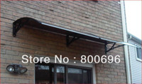 Wholesale 100x200cm set carton door and window canopy DIY