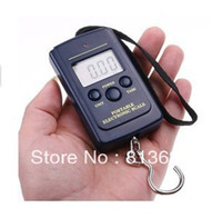 Cheap 20g-40Kg Digital Hanging Luggage Fishing Weight Scale retail freeshipping,dropshipping wholesale