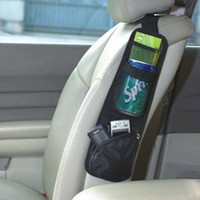 Wholesale Car multi function Pocket Storage Organizer Bag box for Back seat side of chair Hanging