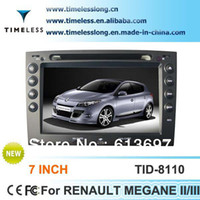 Wholesale 7inch Din Car DVD Player For RENAULT MEGANE II III With GPS Navigation Radio Bluetooth IPod SD USB And Free Map