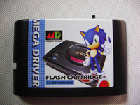 Wholesale New arrival SEGA GENESIS MEGA DRIVER md flash card European cart shell Hot Seller