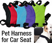 Wholesale Safety Pet Seat Belt For Car Harness Dog Leash Safety Seatbelt Collar Supplies Products Dog Stuff Pads sizes