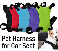 Wholesale 100pcs Safety Pet Seat Belt For Car Harness Dog Leash Safety Seatbelt Collar Supplies Products Dog Stuff Pads sizes