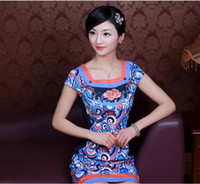 2014 New Design!Spring and Summer Improved Short Dresses Squ...