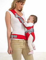 Wholesale Front and hip back carry organic cotton baby carrier kids Slings child wrap