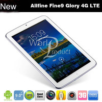 Wholesale NEW G LTE Allfine fine9 Glory G Phone Call Tablet PC Quad Core RK3188 GB GB GPS HDMI IPS Screen p Dual Camera