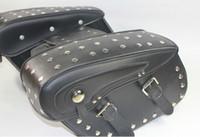 Wholesale Motorcycle saddlebag motorcycle side bag Ha lley prince saddlebag Ha lley skin saddlebag Ha lley side bag nailing T76