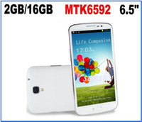 HDC 6.5 2G Wholesale - MTK6592 octa core phone Ulefone U692 1.7ghz big S4 i9500 H9500 6.5Inch IPS Screen 2GB RAM+16GB ROM android cell phone 8.0MP Andr