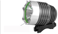 Wholesale lumens led headlamp CREE XML T6 LED in Bike Head Light Lamp Bicycle Flashlight DHL