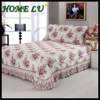 Wholesale NEW quilting patchwork coverlet with two pillowcase Bedspread set cotton thick bed linen FSZ121