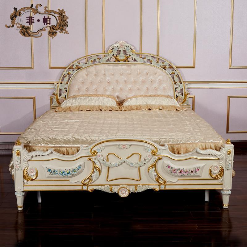 Antique Spanish Furnitureluxury Wooden Bedroom Furniturehand