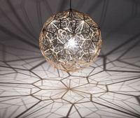hanging balls - Tom Dixon Etch Web Creative Arts Diamond Ball Hanging Lighting Pendant Lamp Gold Silver cm cm Ball Chandelier Lamp Available