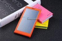 For Samsung Leather For Christmas convenient case touch case somart case leather case for Note 3 N9000 N9002 N9005 N9006 N9008 N9009
