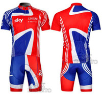 Wholesale 2014 new arrival team SKY cycling jersey world championship cycling jersey short sleeve and cycling bib short cycling Clothes COOS