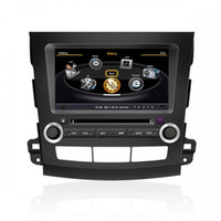 Wholesale Car DVD Player For MITSUBISHI OUTLANDER With GPS Navigation Radio Bluetooth TV iPod G WIFI FREE G Map