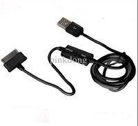 Wholesale 2 in USB Data Sync and Charging Cable with Switch control for Samsung Galaxy Tab with packing